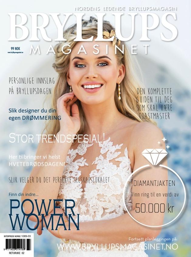 Bryllupsmagasinet skriver om meg