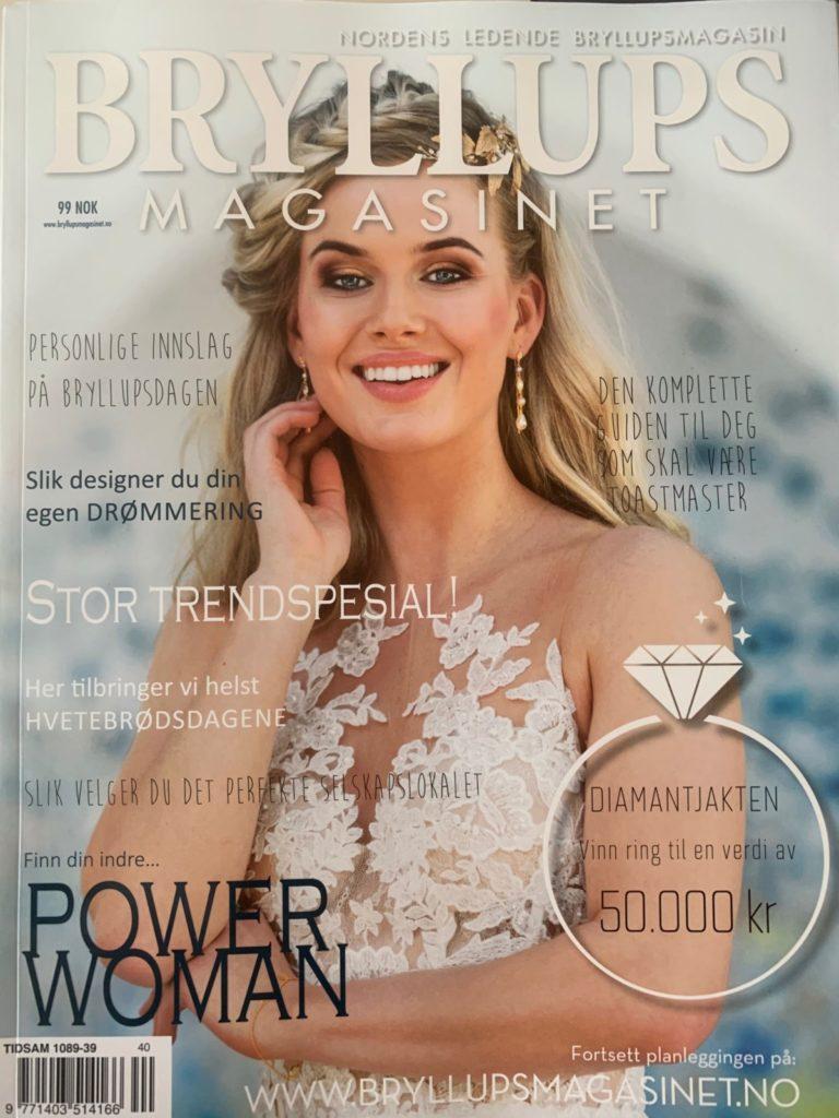 Artikkel om Jens Petter i Bryllupsmagasinet