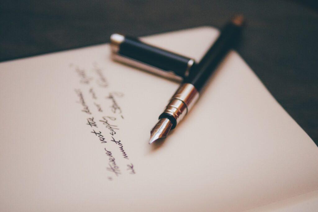 Jeg har tro på å skrive dikt